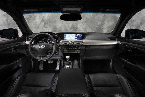 2013 Lexus LS 460 F Sport Interior