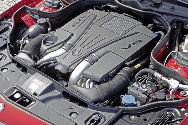 2013 Mercedes-Benz CLS-Class Shooting Brake Engine