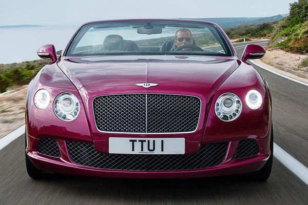 2013 Bentley Continental GT Convertible Speed