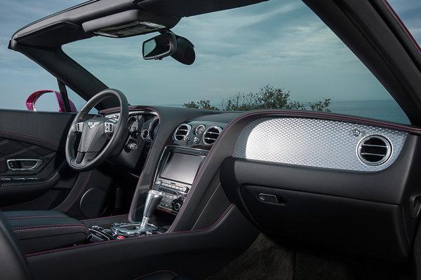 2013 Bentley Continental GT Convertible Speed Interior