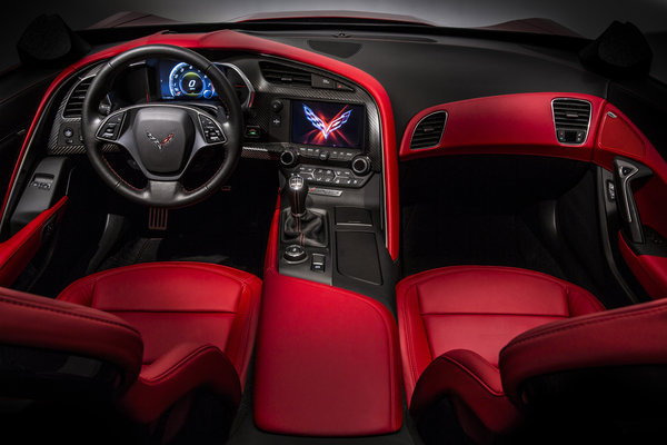 2014 Chevrolet Corvette C7 Corvette Interior