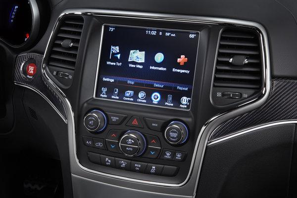 2014 Jeep Grand Cherokee Instrumentation