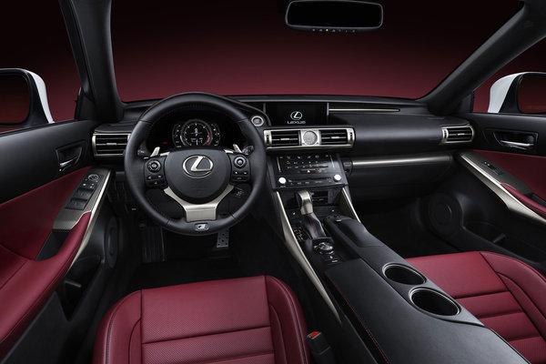 2014 Lexus IS 350 F Sport Interior
