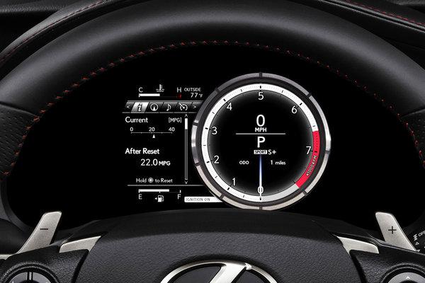 2014 Lexus IS 350 F Sport  Instrumentation