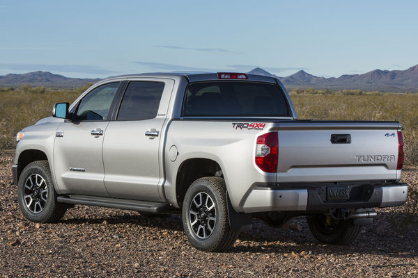 2014 Toyota Tundra Crew Cab Limited