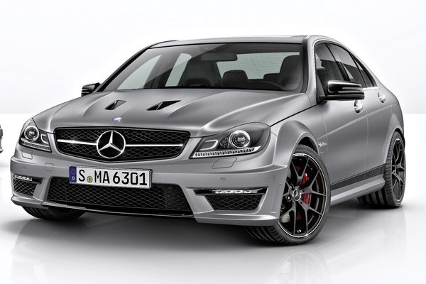 2014 Mercedes-Benz C-Class C63 AMG Edition 507 sedan
