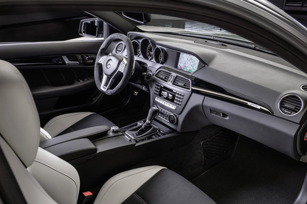 2014 Mercedes-Benz C-Class C63 AMG Edition 507 coupe Interior