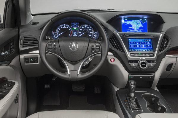 2014 Acura MDX Instrumentation