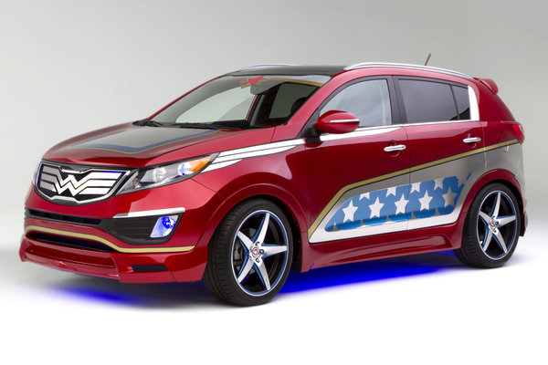 2013 Kia Wonder Woman-Inspired Sportage