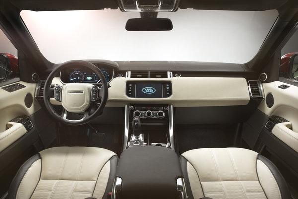 2014 Land Rover Range Rover Sport Interior