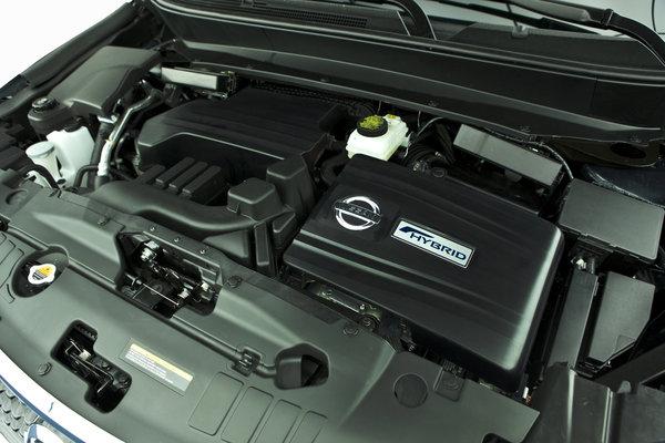 2014 Nissan Pathfinder Hybrid Engine