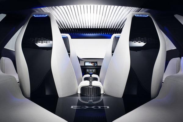 2013 Jaguar C-X17 Interior