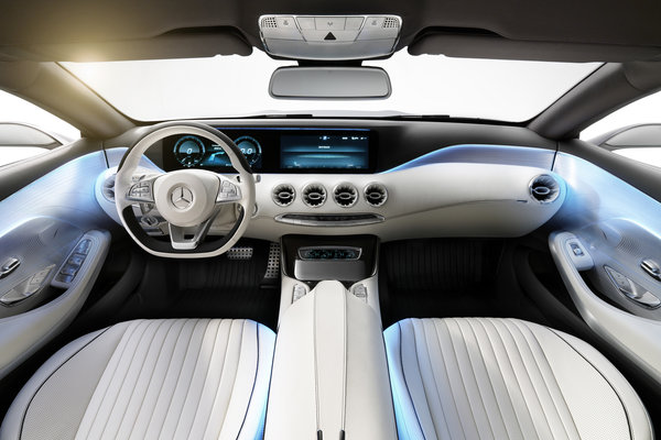 2013 Mercedes-Benz Concept S-Class Coupe Interior