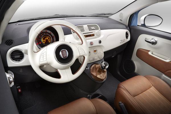 2014 Fiat 500 1957 Edition Interior