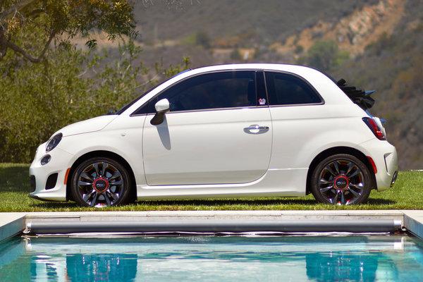 2014 Fiat500c GQ Edition