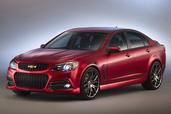2013 Chevrolet Jeff Gordon SS performance sedan
