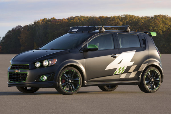 2013 Chevrolet Ricky Carmichael All-Activity Sonic concept