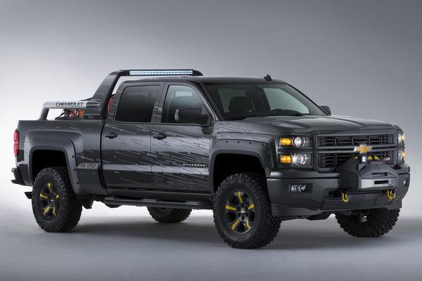 2013 Chevrolet Silverado Black Ops