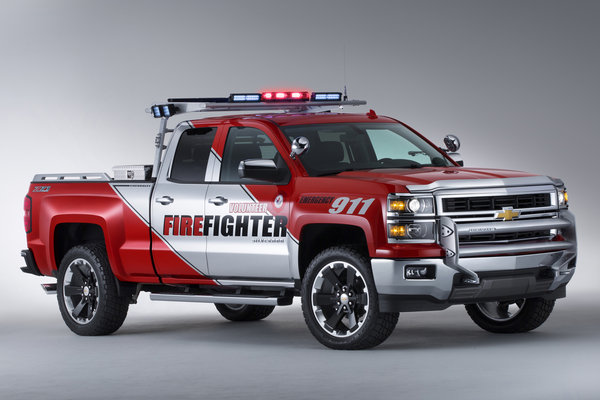 2013 Chevrolet Silverado Firefighter