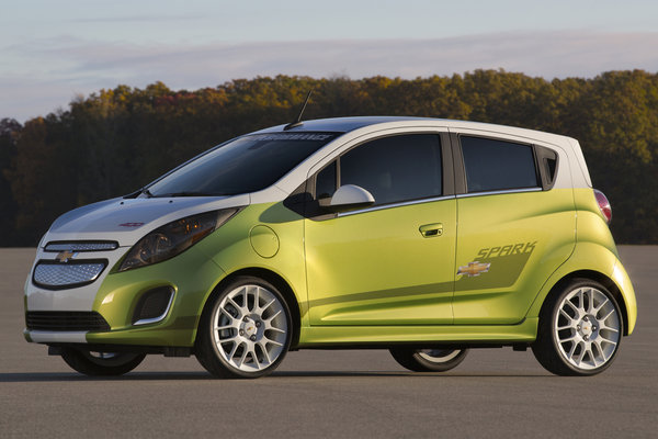 2013 Chevrolet Spark EV Tech Performance concept