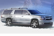 2013 Chevrolet Suburban Half-Pipe