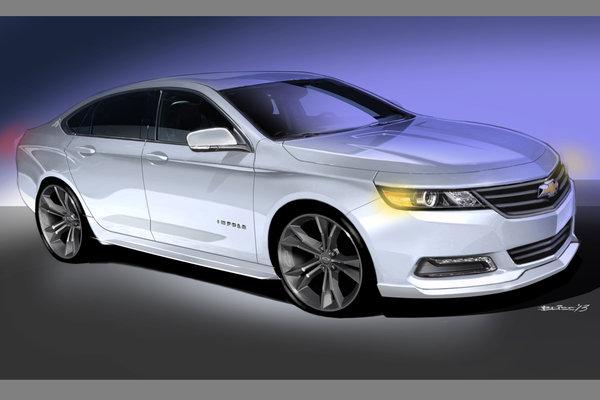 2013 Chevrolet Urban Cool Impala concept