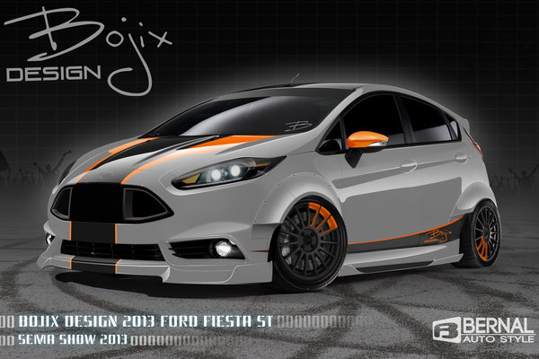 2013 Ford Fiesta ST by Bojix Design