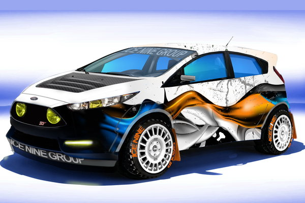 2013 Ford Fiesta ST by Ice Nine Group