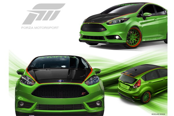 2013 Ford Fiesta ST by MRT