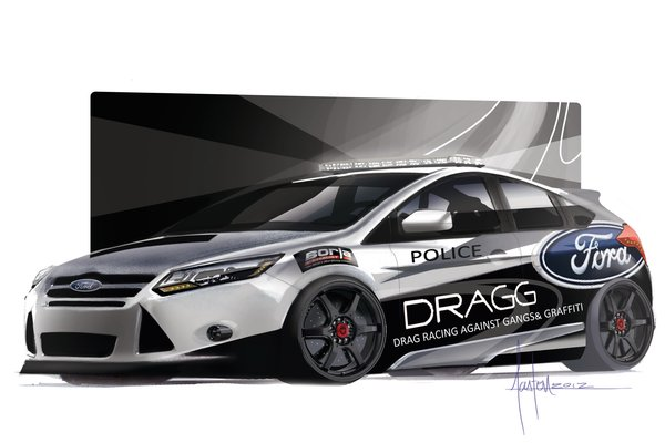 2013 Ford Focus ST by DRAGG