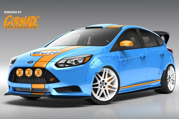 2013 Ford Focus ST by UTI