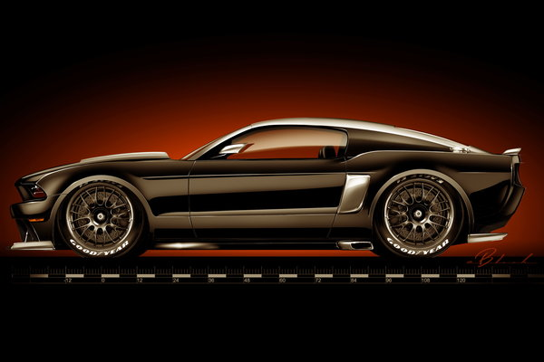 2013 Ford Mustang by Hollywood Hot Rods