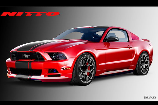 2013 Ford Mustang by Nitto Tire