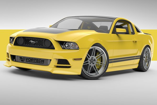 2013 Ford Mustang by Vortech Superchargers