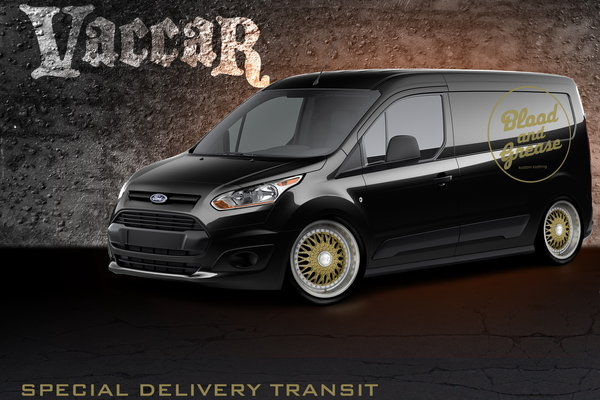 2013 Ford Transit Connect by Blood & Grease