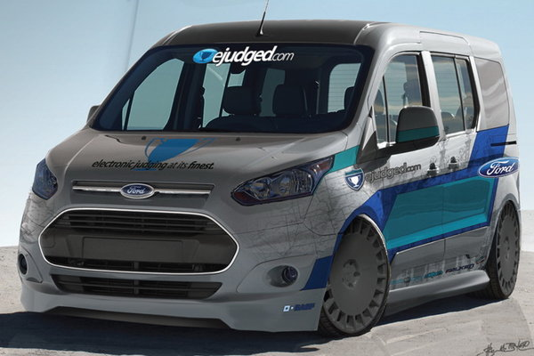 2013 Ford Transit Connect by eJudged.com