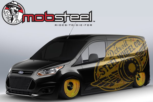 2013 Ford Transit Connect by Mobsteel