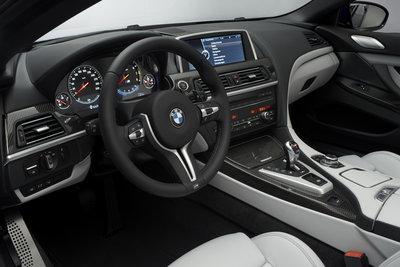 2012 BMW 6-Series M6 Convertible Instrumentation