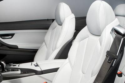 2012 BMW 6-Series M6 Convertible Interior