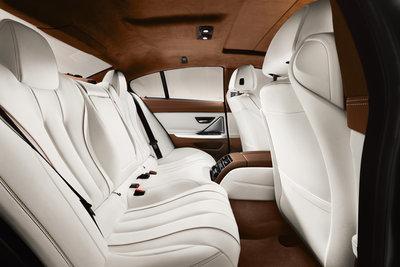 2013 BMW 6-Series Gran Coupe Interior