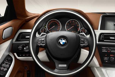 2013 BMW 6-Series Gran Coupe Instrumentation