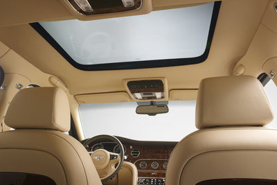 2013 Bentley Mulsanne Mulliner Driving Specification Interior