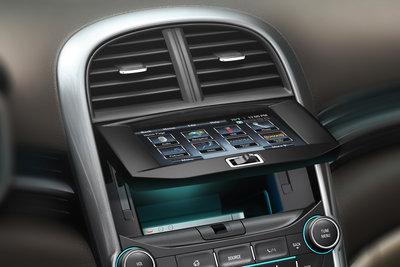 2013 Chevrolet Malibu Instrumentation