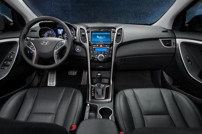 2013 Hyundai Elantra GT Instrumentation