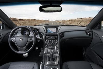 2013 Hyundai Genesis coupe Instrumentation