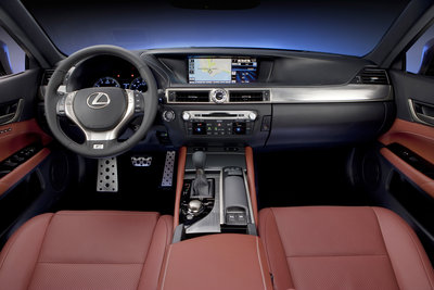 2013 Lexus GS 350 F Sport Instrumentation