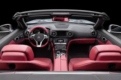 2013 Mercedes-Benz SL-Class SL550  Interior