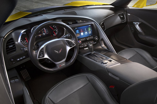 2015 Chevrolet Corvette Z06 Interior