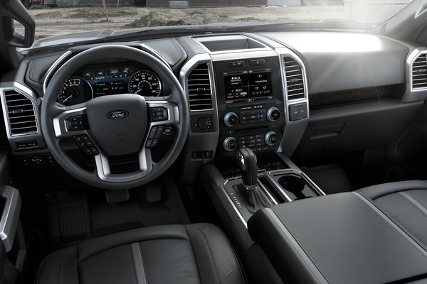 2015 Ford F-150 Crew Cab Interior