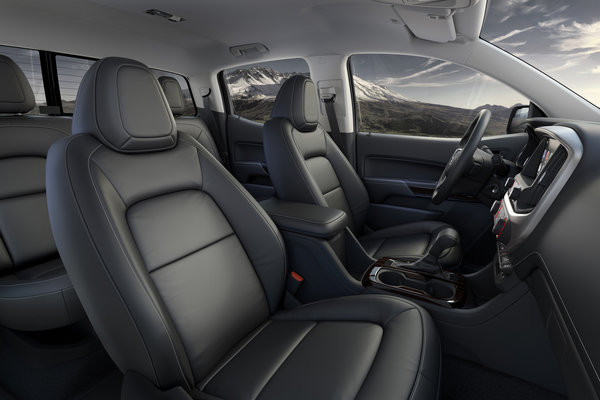 2015 GMC Canyon Crew Cab Interior